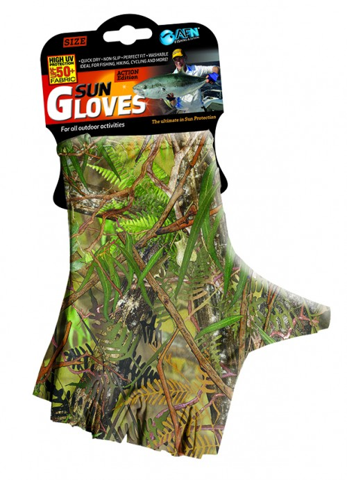 Sun Gloves Camo