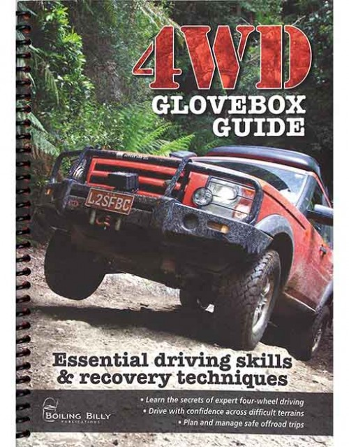 4WD glovebox guide