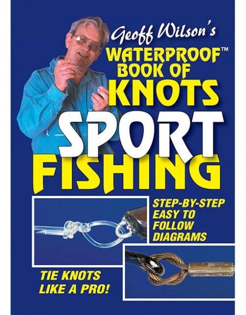 waterproof book of knots sport fishing