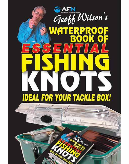 waterproof book of essential fishing knots