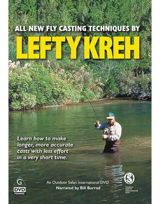 all new fly casting techniques by lefty kreh