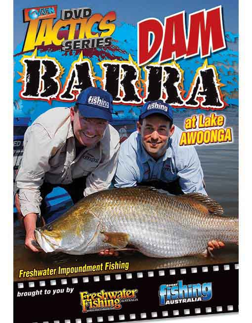 Dam Barra tactics at lake awonga