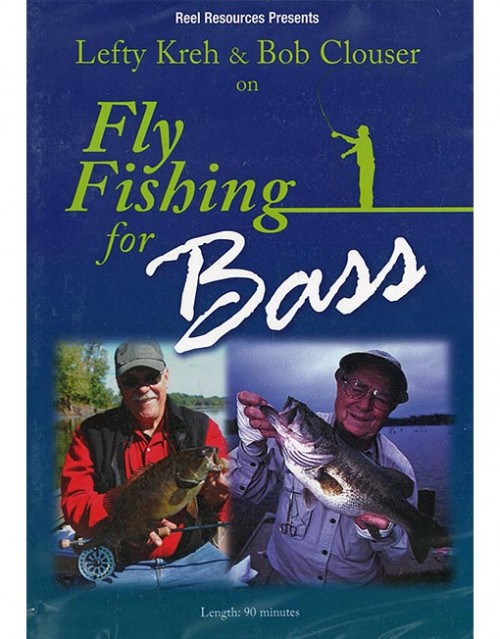Fly fishing for Bass WEB