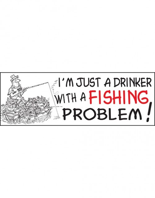 I'm just a drinker with..