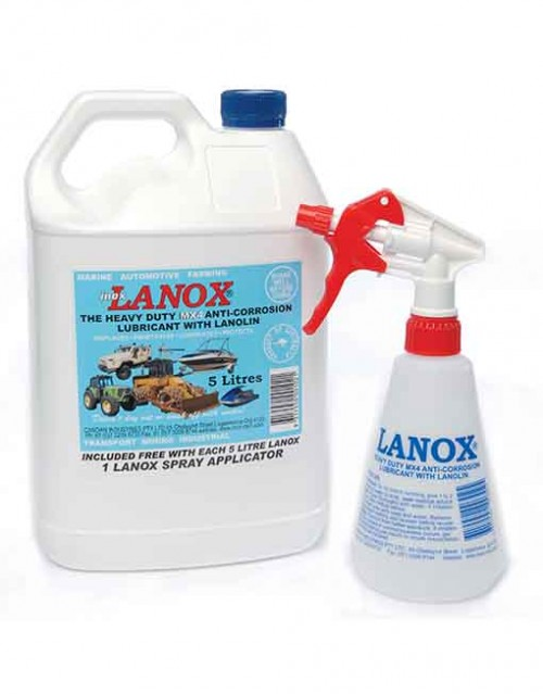 INOX LANOX MX4-5L WITH APPLICATOR