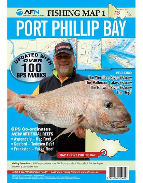 MAP PORT PHILLIP BAY MP001