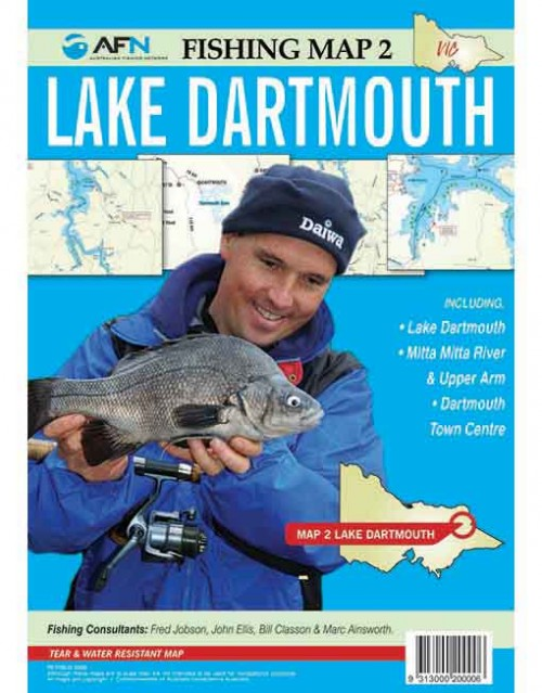 MAP LAKE DARTMOUTH MP002