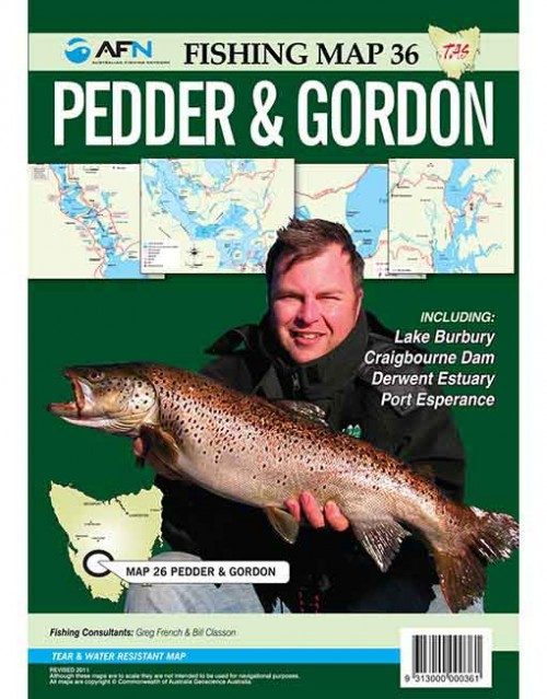 pedder and gordon map mp036