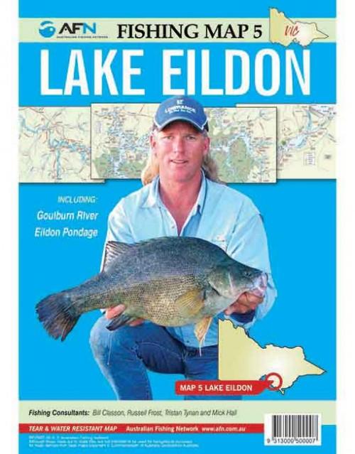 Map LAKE EILDON MP005