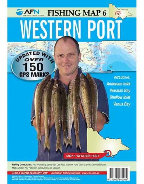 MAP WESTERNPORT MP006