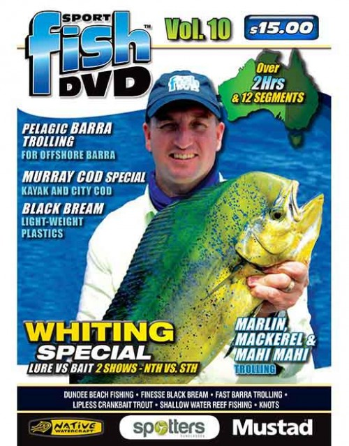 SPORT FISH DVD VOLUME 10