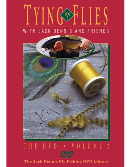Tying Flies with Jack Dennis & Friends 2 DVD