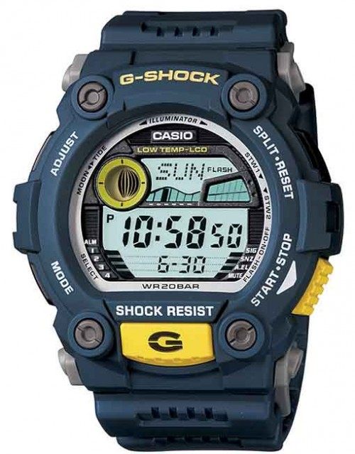 G-SHOCK TIDE (RESIN BAND - BLUE) G7900-2