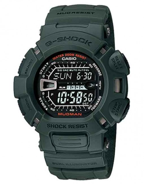 G-SHOCK MUDMAN GREEN BAND (G9000-3VDR)