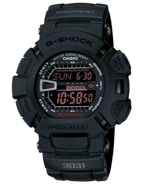 G-SHOCK MUDMAN BLK G9000MS-1