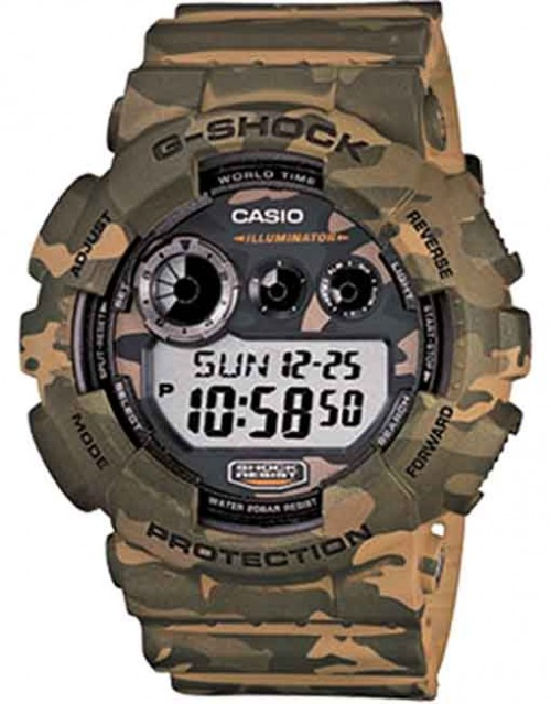 G-Shock Camo Series Green