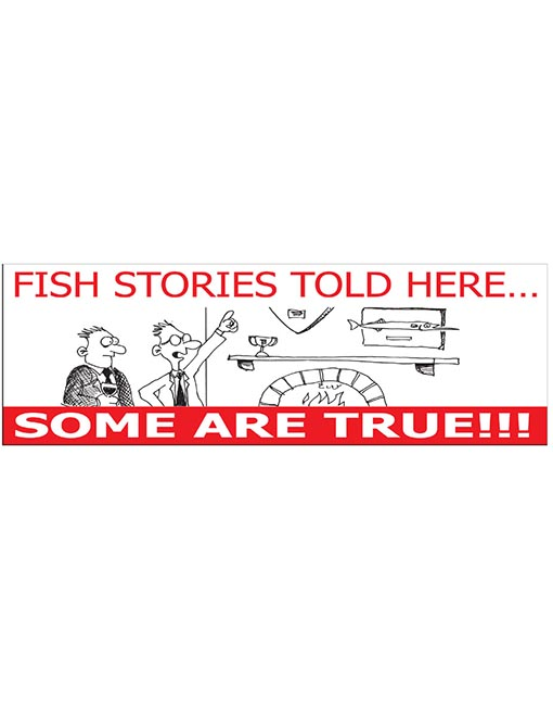 fish stories told here