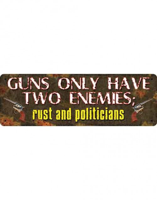Guns only have 2 enemies