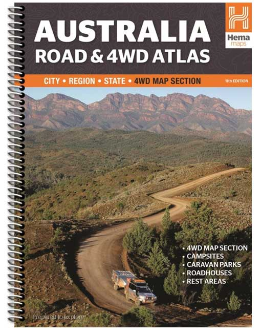 Australia Road and 4WD Atlas