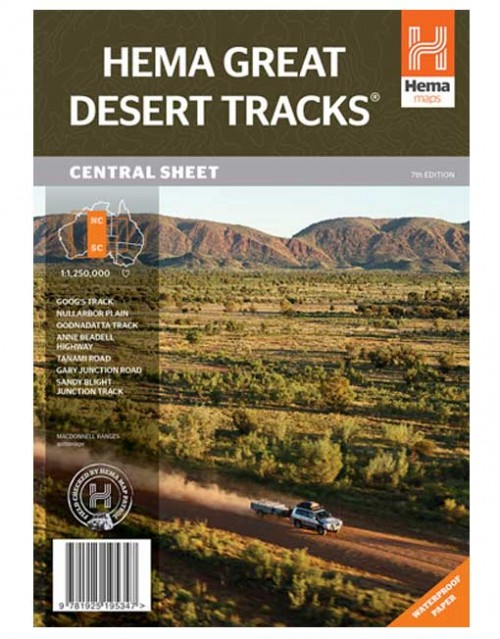 Desert Tracks Central Sheet