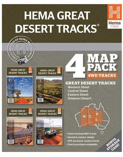 4wd australia map-pack