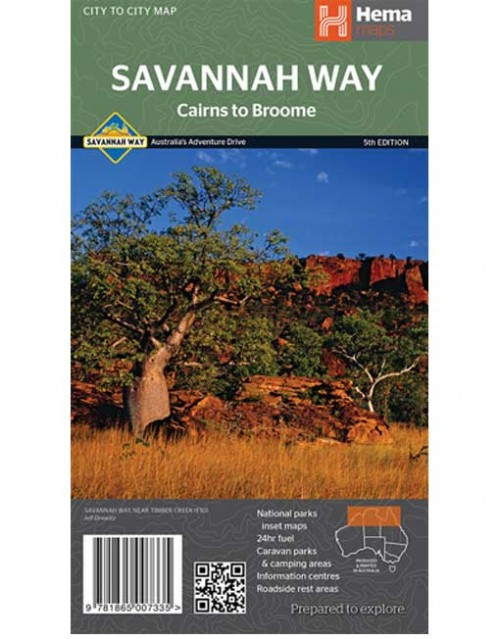 Savannah Way Cairns to Broome