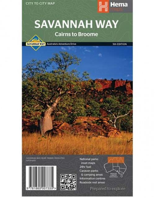 Savannah Way Cairns to Broome