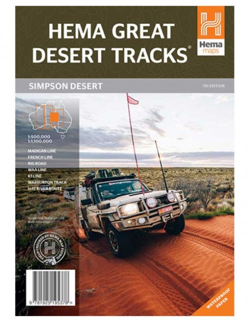 Simpson Desert Map
