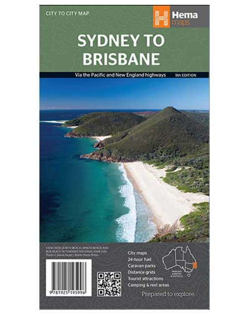 Sydney to Brisbane Map