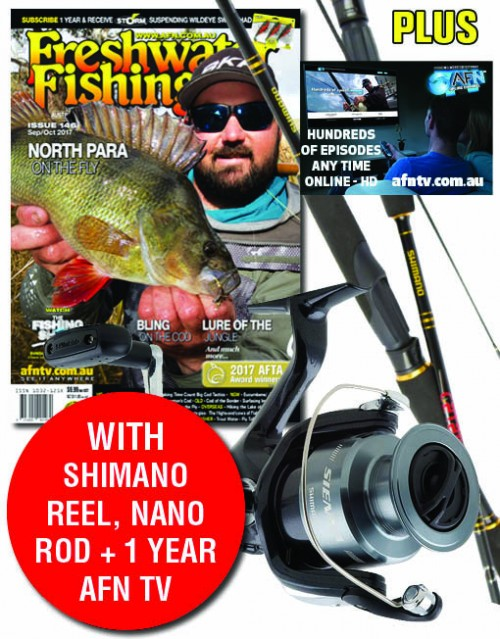 FWF146 SUB shimano and AFNTV-2