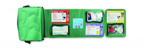 First Aid Fast Kit QR Code Open