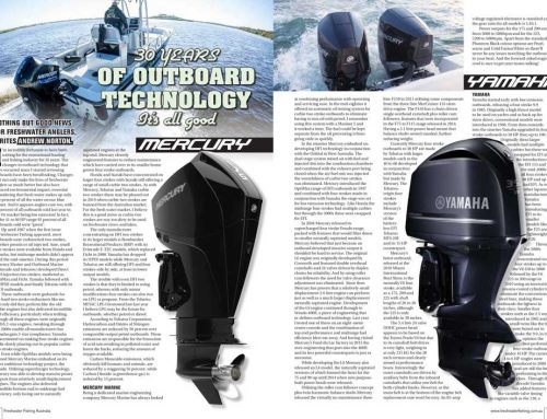 30 Years of Outboard Technology!