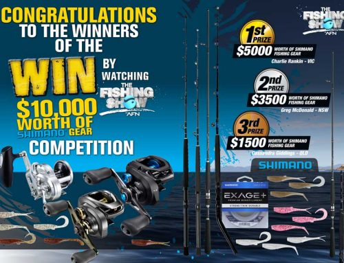 Shimano WIN Competition WINNERS!!!
