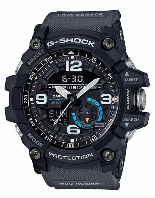 Casio G-Shock Mudmaster Twin Sensor GG1000-1A8