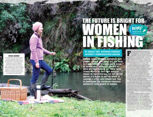 The Future is Bright for Women in Fishing!