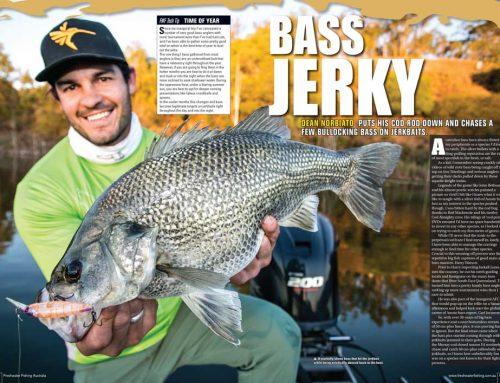 Bass Jerky
