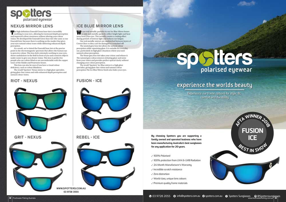 9a155ef373 What s New What s Hot in Sunglasses for Summer! - Australian Fishing ...