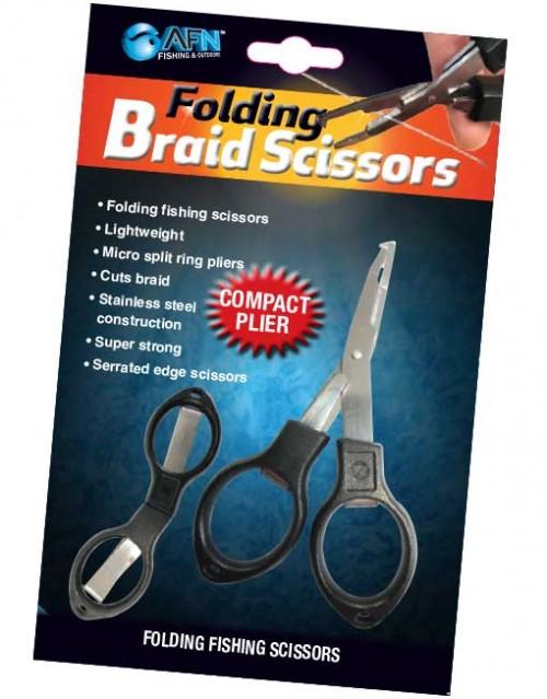 AFN Folding Braid Scissors