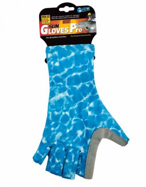 AFN Sun Gloves Pro Water Blue