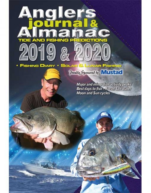 B3607 Anglers Journal & Almanac 2020