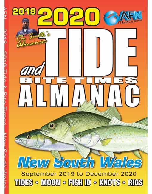 B3669 2020 Tide & Bite Times Almanac New South Wales