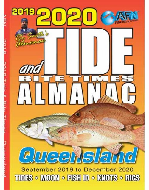 B3676 2020 Tide & Bite Times Almanac Queensland