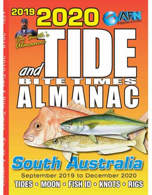 B3683 2020 Tide & Bite Times Almanac South Australia