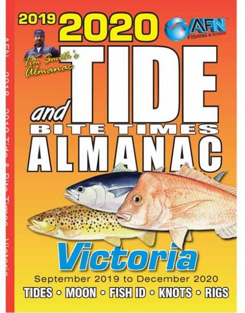B3690 2020 Tide & Bite Times Almanac Victoria
