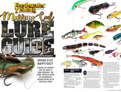 MURRAY COD LURE GUIDE, TOP 3 – OVER 50 BRANDS!