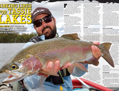 SINKING LINES FOR TASSIE LAKES