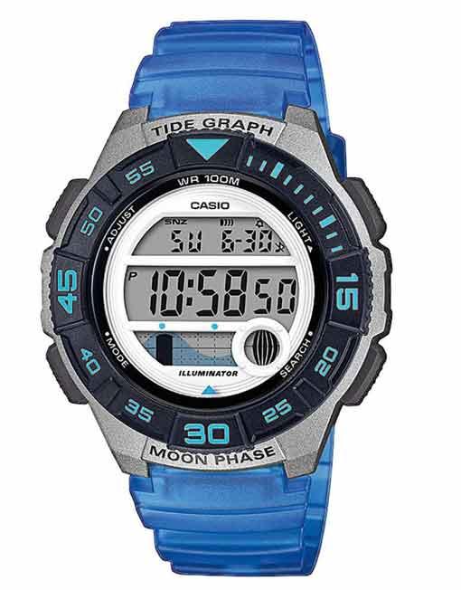 Casio Marine Sports Gear Tide Ladies Blue