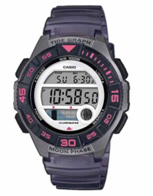 Casio Marine Sports Gear Tide Ladies - Charcoal